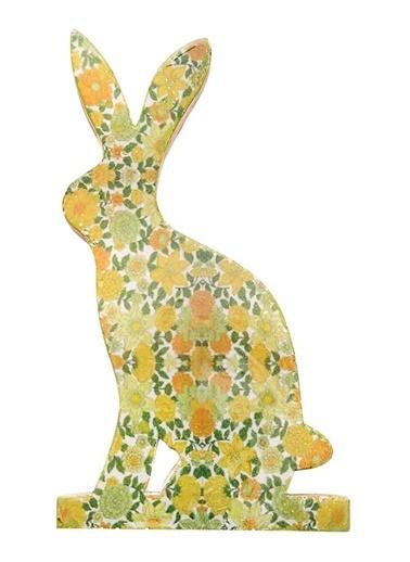 Vitale Dekoratif Tavşan Büyük Boy Yeşil